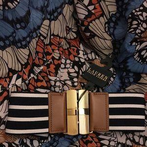 Lauren by Ralph Lauren stretch belt