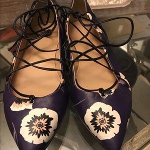 J crew lace up shoes