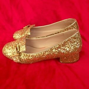 Topshop 10K Glitter Shoes