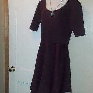 LuLaRoe XL Plum Colored Amelia Dress