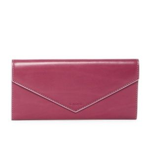 New!Perfect for gift Foldover Leather Wallet Firm