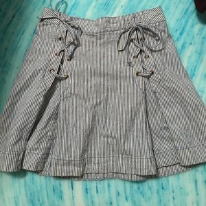 Free people stripped skirt!!!