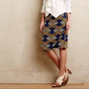Beautiful geometric skirt from anthroplogie!