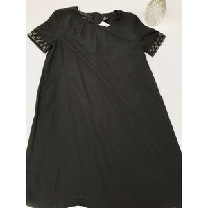 H&M Black Sheath/Career Dress NWOT-  Size 10