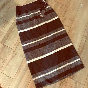 Finity Naturals silk wrap skirt