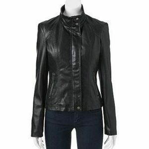🎀NWT🎀 Therapy Faux Leather Jacket