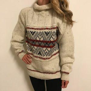 Vintage Fair Isle Chunky Christmas Sweater