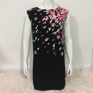 LOFT Dress Petites Floral Size XSP 100% Poliéster