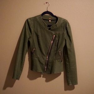 Free People Structured Military Jacket