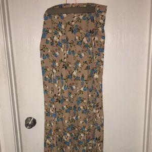Wrap skirt - maxi