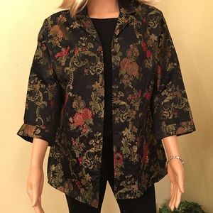 Chic embroidered jacket by Chico's.
