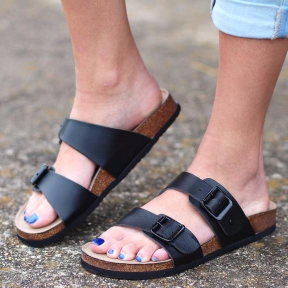 d6ebba33b5c Madden Girl Brando Footbed Sandals NWT