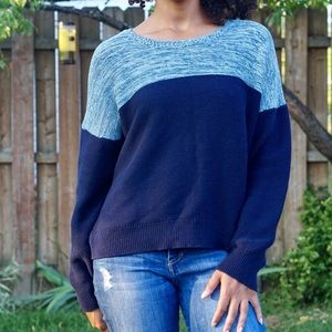 Urban Outfitters BDG Two Toned Crewneck Sweater