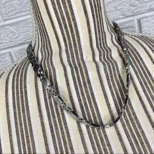 Silver Stainless Steel Necklace