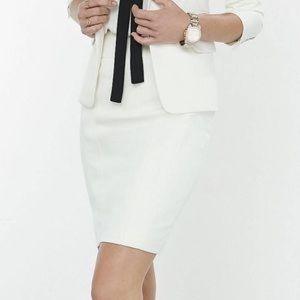 NWT White Pencil Skirt