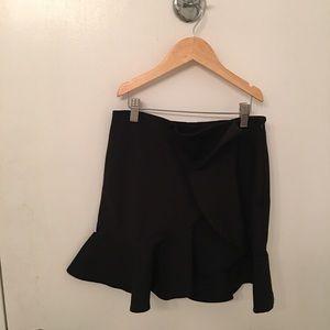 New condition zara mini flared skirt