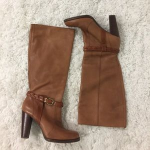 Boots Banana Republic Color Tan Leather 6.5