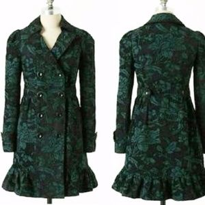 Elevenses Emerald Isle Brocade Coat