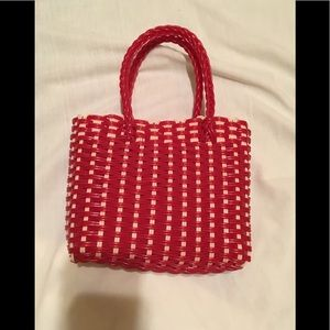 Other - Woven Plastic small tote
