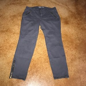 Old Navy 16 rockstar skinny cargo ankle pants