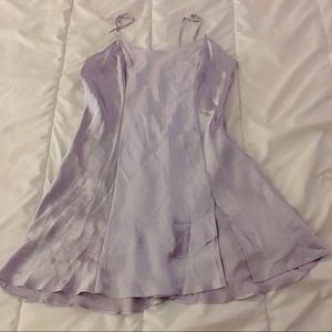 VICTORIA'S SECRET Satin slip dress