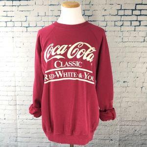 Vintage 80s Coca Cola Sweatshirt