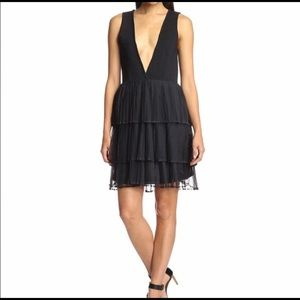 English Factory Deep V Dress