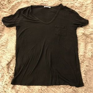 T by Alexander Wang | Classic T Shirt with Pocket