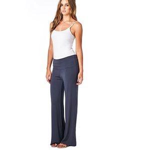 Pants - Solid palazzo lounge wear