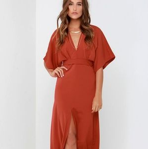 Most Valliant Rust Red Maxi