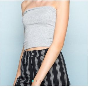 brandy melville tube top!