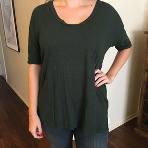 UO Truly Madly Deeply Scoop Neck Tee