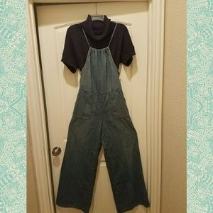 Free People Jean Jumpsuit
