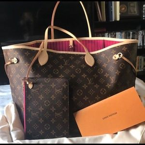 2017 authentic GM Louis Vuitton never full