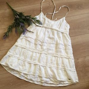 Beautiful white lace tunic/dress