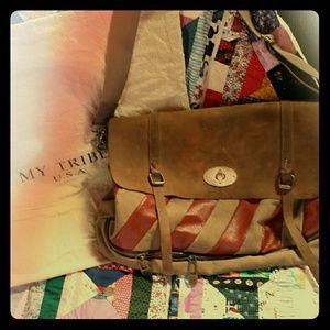 Handbags - Leather cross body bag