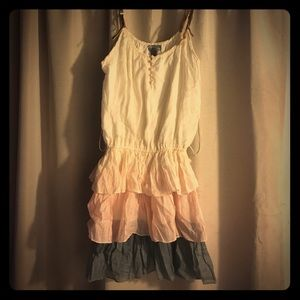 MAKE AN OFFER‼️Poetry Layered Ruffle Dress M