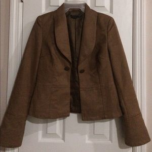 """Paralle"" Women Tan Color Jacket. Size M"