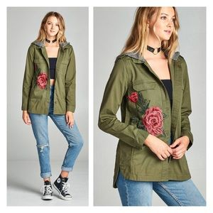 New Arrival- Trending Military Style Jacket