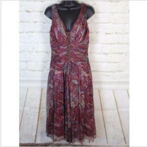 💥CCO💥 Suzi Chin for Maggy Boutique V-Neck Dress