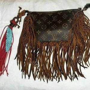 "Custom ""boutiqued"" AUTHENTIC Louis Vuitton"