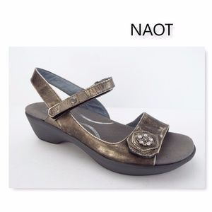 NAOT RESERVE Crystal Leather Ankle Strap Sandal