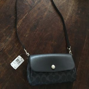 Coach reversable crossbody with card holder