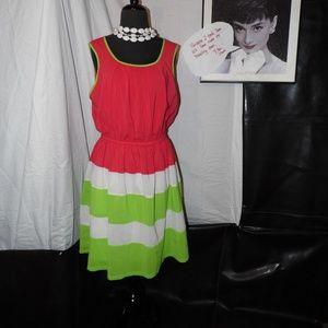 Beige by eci Women's Dress size 12