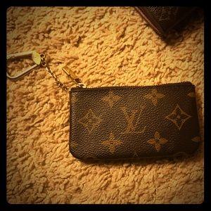Authentic Louis Vuitton key chain coin purse