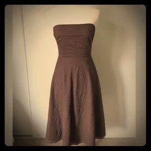 MAKE AN OFFER‼️ J.Crew Brown Searsucker Dress 4