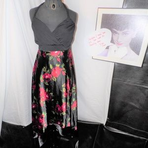 Torrid Halter Dress With Rose Print size 2X