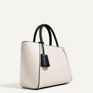 NWT Zara Multicoloured mini tote bag