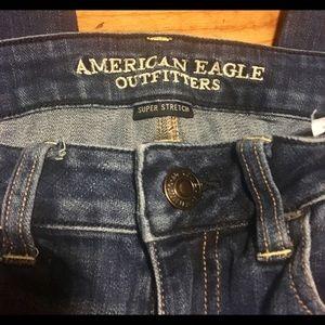 American eagle super stretch jeggings