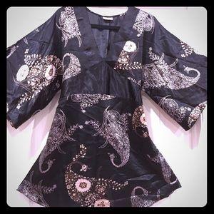 Tops - Kimono style tunic top